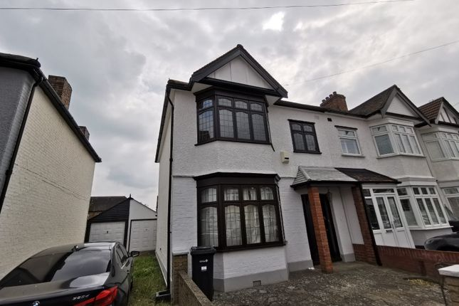 Thumbnail Semi-detached house to rent in Mansted Gardens, Romford