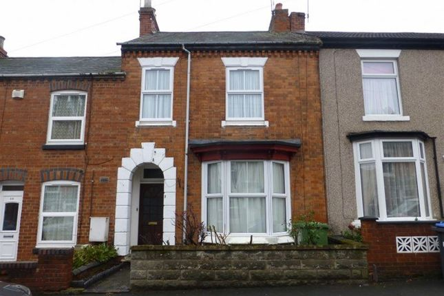 Thumbnail Terraced house to rent in Cambridge Street, Rugby, Warwickshire