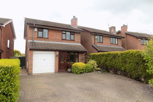 Thumbnail Detached house for sale in The Willows, Wincham, Northwich