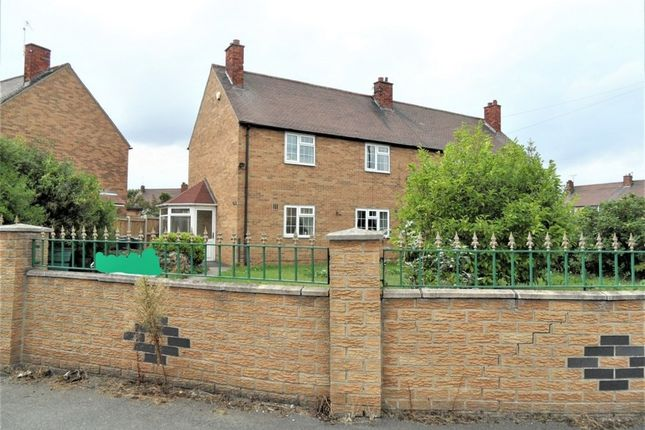 Thumbnail Semi-detached house for sale in Lauder Road, Doncaster