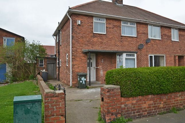 Thumbnail Semi-detached house to rent in Woolsington Road, North Shields