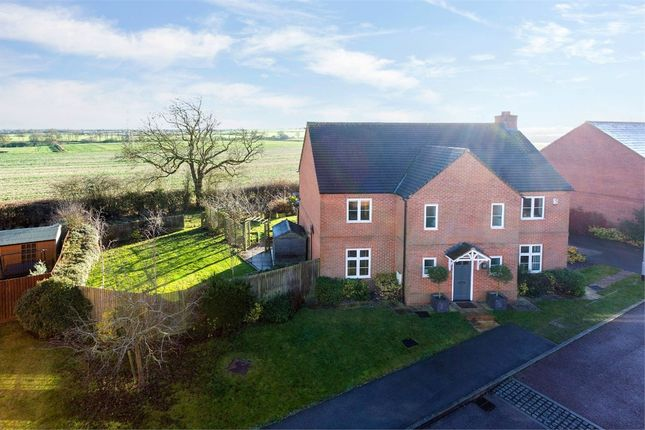 Thumbnail Detached house for sale in Hares Run, Mawsley Village, Kettering, Northants