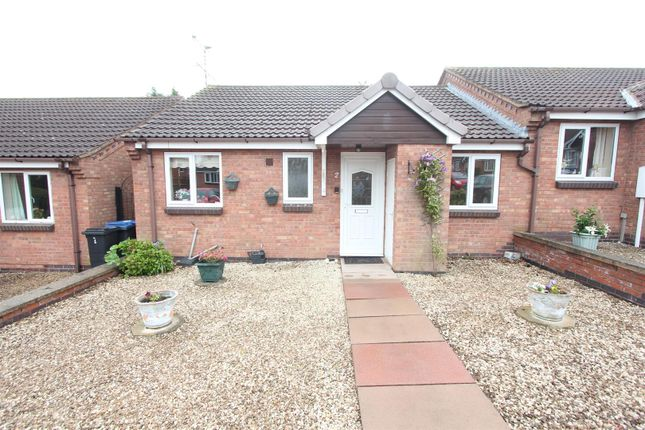 Thumbnail Semi-detached bungalow for sale in Coniston Court, Earl Shilton, Leicester
