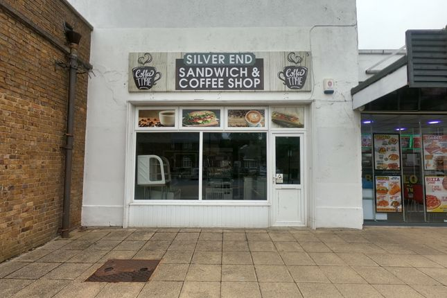 Retail premises to let in The Broadway, Silver End, Witham, Essex