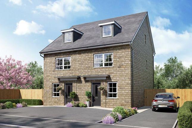 "Thumbnail Semi-detached house for sale in ""Kingsville"" at Braeburn Drive, Appleton, Warrington"