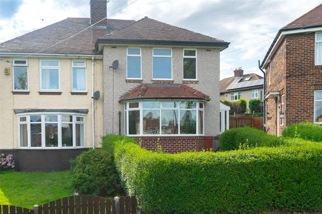 Front of Studfield Crescent, Wisewood, Sheffield S6