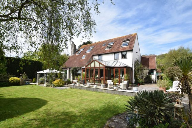 Thumbnail Detached house for sale in Clevedon Road, Weston-In-Gordano, Bristol