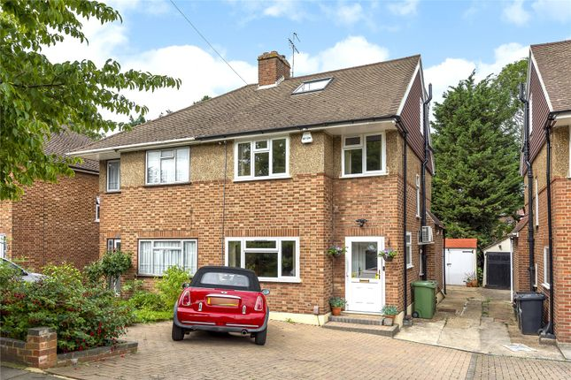 Semi-detached house for sale in Bassetts Way, Orpington