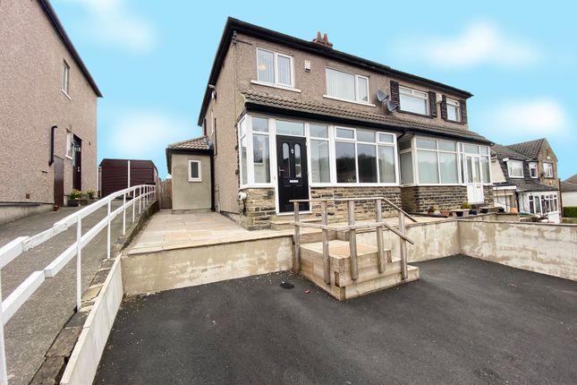 Thumbnail Semi-detached house for sale in Nab Wood Drive, Nab Wood, Shipley