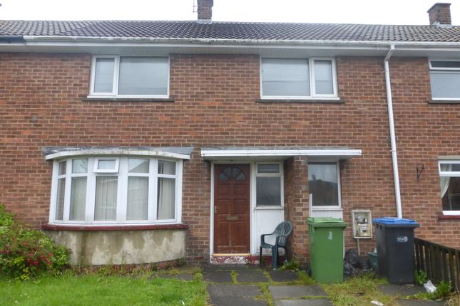 Thumbnail Terraced house to rent in Hawthorne Road, Spennymoor