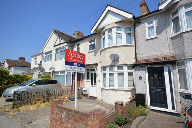 Thumbnail Terraced house to rent in Upminster Road South, Rainham, Essex