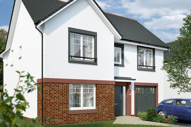 "Thumbnail Detached house for sale in ""The Norbury"" at Lochview Terrace, Gartcosh, Glasgow"