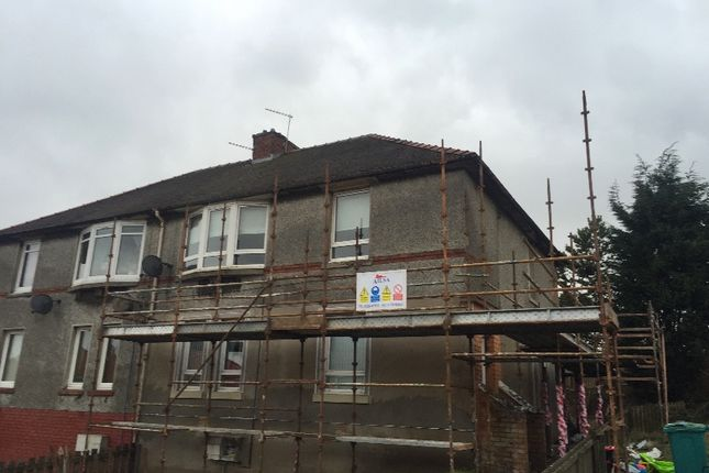 Thumbnail Flat to rent in Target Road, Airdrie, North Lanarkshire
