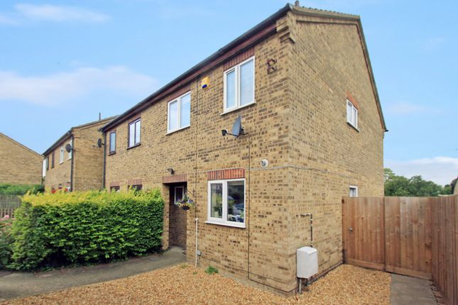 Thumbnail Semi-detached house for sale in Earith Road, Willingham, Cambridge