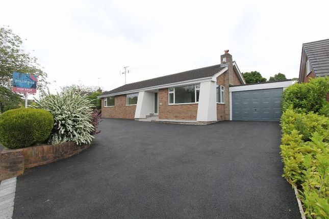 Thumbnail Detached bungalow for sale in Leys Drive, Newcastle-Under-Lyme