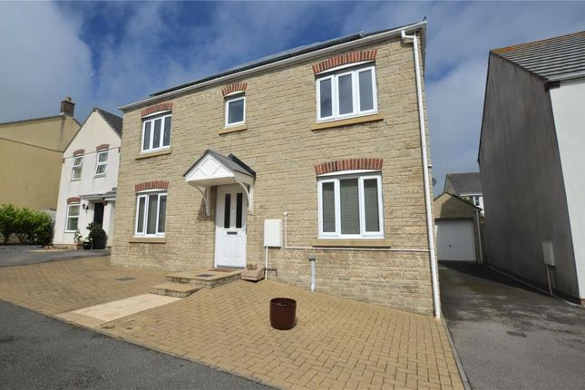 Thumbnail Detached house to rent in Hawkins Way, Helston, Cornwall