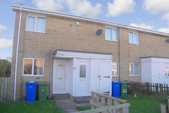 Thumbnail Flat to rent in Lindsey Close, Cramlington