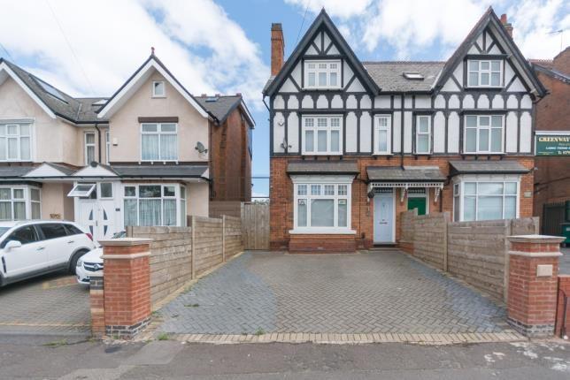 Thumbnail Semi-detached house for sale in Warwick Road, Acocks Green, Birmingham, West Midlands