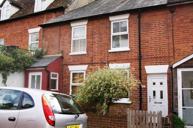 Thumbnail Terraced house to rent in Flaxfield Road, Basingstoke