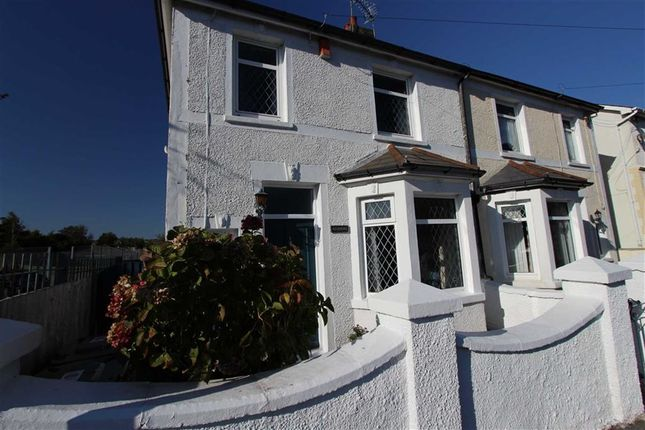 3 bed semi-detached house for sale in Crescent Road, Caerphilly