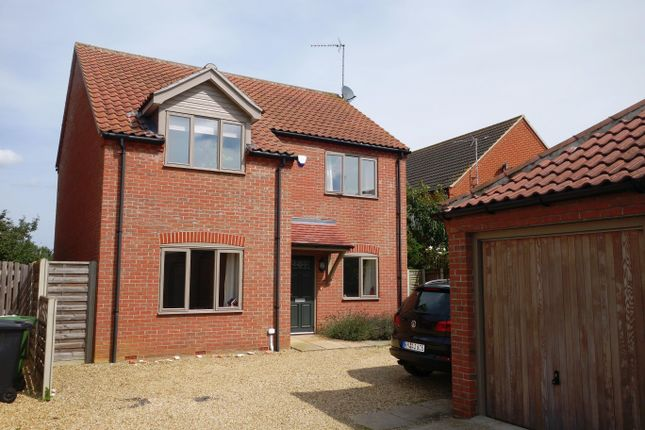 Thumbnail Detached house to rent in Brenda Collison Close, Dersingham, King's Lynn