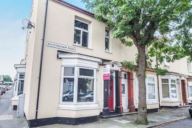 Thumbnail End terrace house for sale in Buckingham Road, Stockton-On-Tees