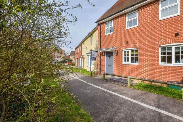 Thumbnail Terraced house for sale in Thomas Benold Walk, Colchester, Essex