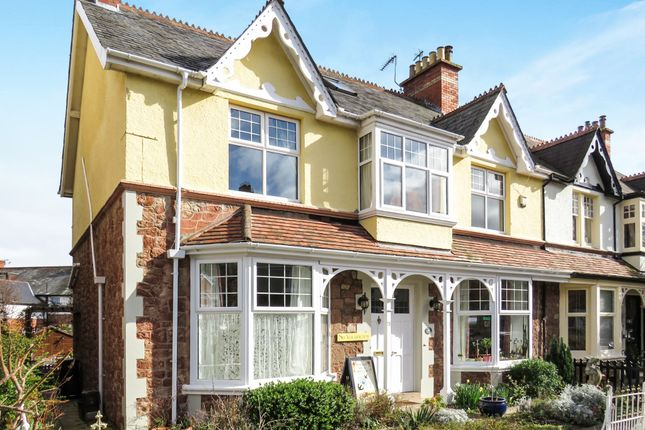 Thumbnail Semi-detached house for sale in Tregonwell Road, Minehead