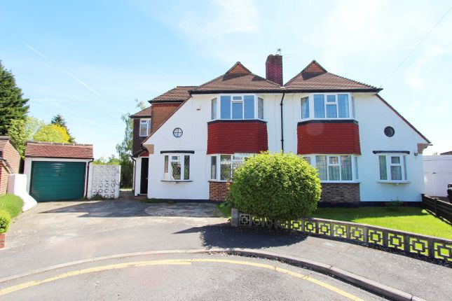 Thumbnail Semi-detached house to rent in Hopton Gardens, New Malden
