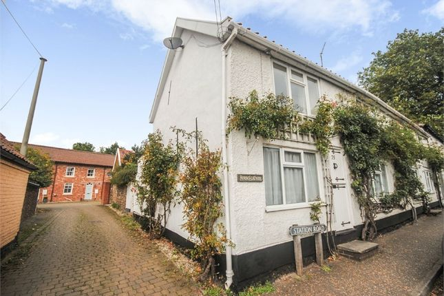 Thumbnail Semi-detached house for sale in Station Road, Foulsham, Dereham, Norfolk