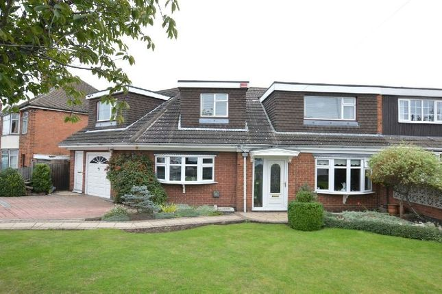 Thumbnail Semi-detached house for sale in Trinity Road, Enderby, Leicester