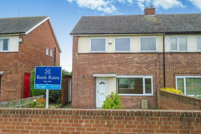 Thumbnail Semi-detached house to rent in Sides Road, Pontefract
