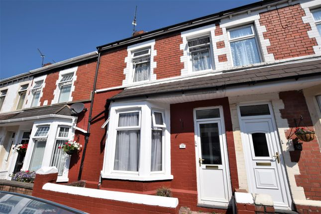 Thumbnail Terraced house for sale in Cora Street, Barry