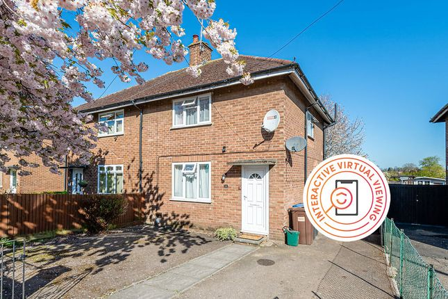 Thumbnail Semi-detached house for sale in Crawford Road, Hatfield
