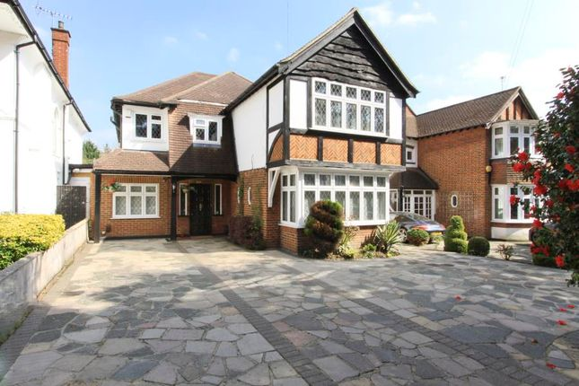 Thumbnail Detached house to rent in Anselm Road, Pinner