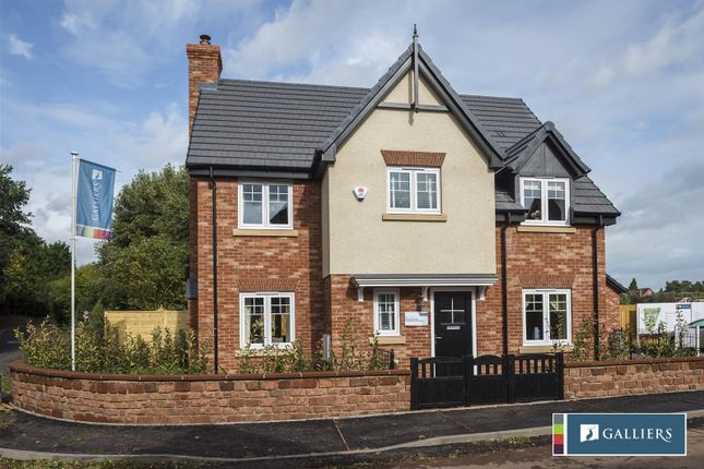 Thumbnail Detached house for sale in Shrewsbury Road, Baschurch, Shrewsbury