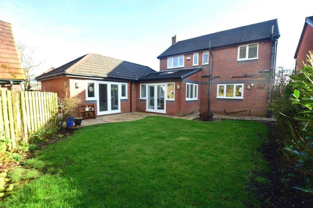 Thumbnail Detached house for sale in Bracken Drive, Freckleton, Preston