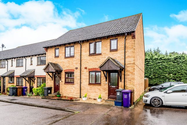 Thumbnail End terrace house for sale in Horace Gay Gardens, Letchworth Garden City