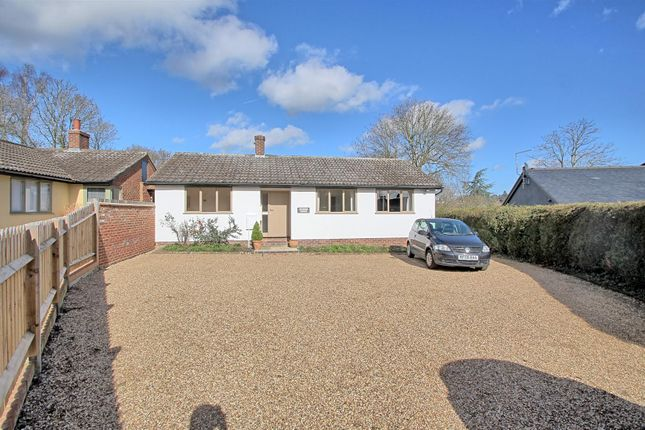 Thumbnail Detached bungalow for sale in North Road, Hertford