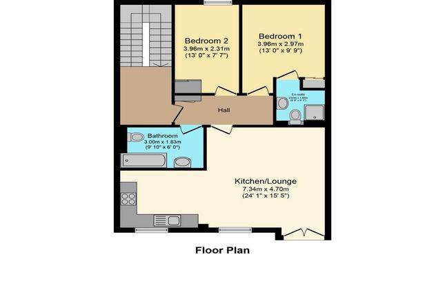 Floorplan of Wellington Street, Wishaw ML2