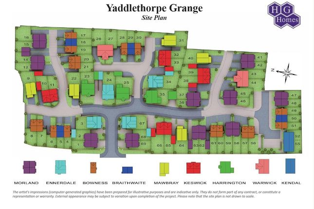 Semi-detached house for sale in Churchill Road, Yaddlethorpe Grange, Scunthorpe