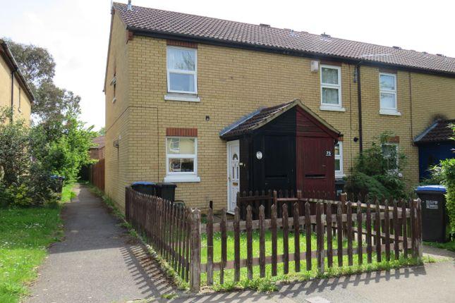 Thumbnail End terrace house to rent in Ludwick Way, Welwyn Garden City