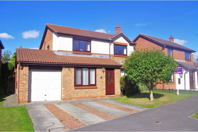 Thumbnail Detached house for sale in Crestbrooke, Northallerton