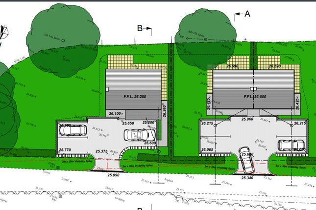 Site Plan of Ashington Lane, Limington, Somerset BA22