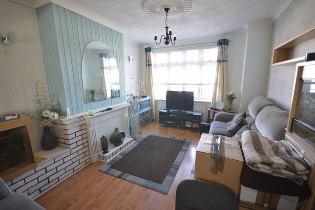 Thumbnail Terraced house to rent in Rothbury Avenue, Rainham