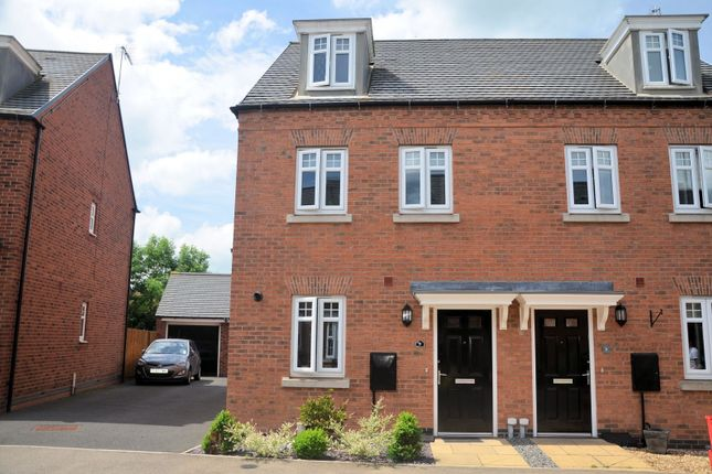 Thumbnail Property for sale in Cornfield Close, Ellistown