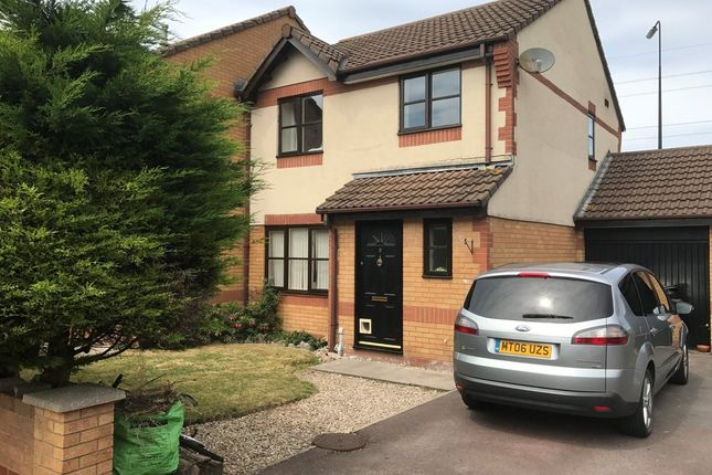 Thumbnail End terrace house for sale in Teasel Walk, Weston-Super-Mare