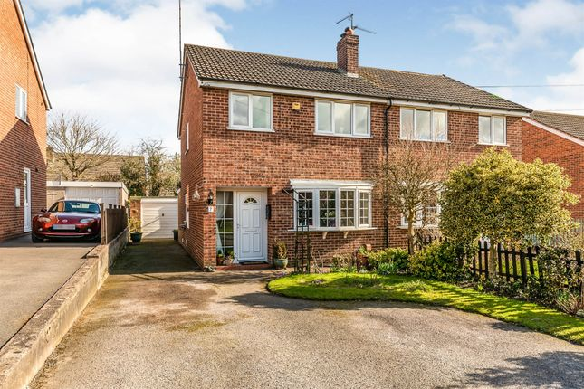3 bed semi-detached house for sale in Narrow Lane, Denstone, Uttoxeter ST14