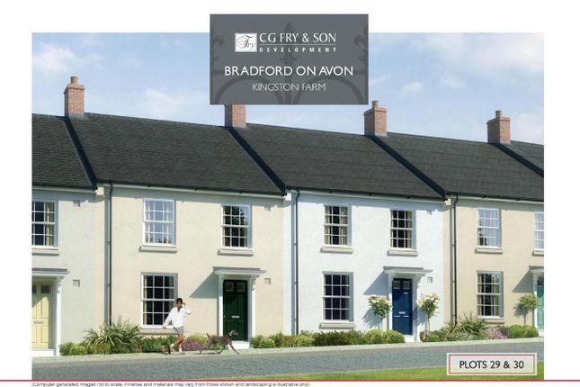 Thumbnail Terraced house for sale in Plot 29, Benjamin Street, Bradford On Avon, Wiltshire