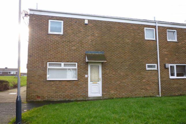 Thumbnail Semi-detached house to rent in Blaketown, Seghill, Cramlington